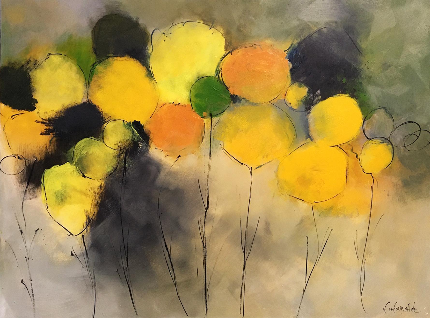 Boules jaunes